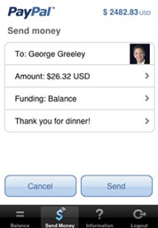 Free 3G iPhone App - PayPal